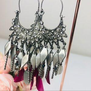Light weight Fashion Bohemian Tassel Earrings